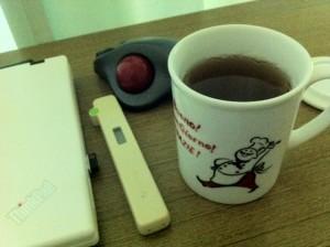 久々のJapanese tea